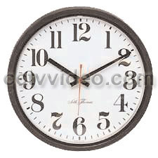 WIRELESS COLOR INDUSTRIAL WALL CLOCK HIDDEN CAMERA FW-WC(C)A