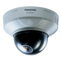 PANASONIC WV-CF224EX Mini color dome camera, 24V AC / 12V DC, 480 TVL, ALC lens