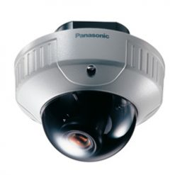 PANASONIC WV-CW244F/22 Flush mount, Vandal-Proof dome camera with 480-lines of resolution and 2.2m