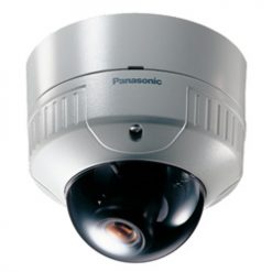 PANASONIC WV-CW244S/22 Surface mount, Vandal-Proof dome camera, 480-lines of resolution and 2.2mm