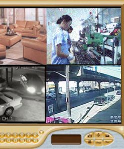 COMPLETE 16 B&W BULLET CAMERA SYSTEM USING YOUR OWN PC WITH 240FPS RECORDING  ***PC-Based***