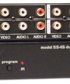 CHANNEL PLUS 5545 4 CHANNEL VIDEO MODULATOR WITH IR
