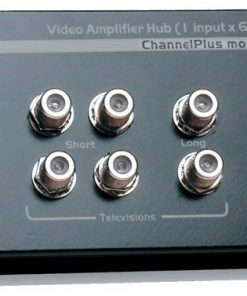 CHANNEL PLUS / OPEN HOUSE H816BID BI-DIRECTIONAL ECONOMICAL WHOLE HOUSE VIDEO DISTRIBUTION AMPLIFIER