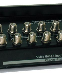CHANNEL PLUS / OPEN HOUSE H838BID BI-DIRECTIONAL VIDEO HUB WITH 5-VOLT IR