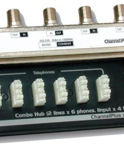 CHANNEL PLUS / OPEN HOUSE H801 COMBINATION TELEPHONE / TV HUB