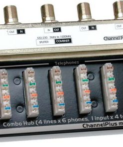 CHANNEL PLUS / OPEN HOUSE H802 COMBINATION TELEPHONE / TV HUB