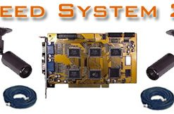 COMPLETE 8 B&W CAMERA REAL TIME VIDEO SECURITY SYSTEM USING YOUR OWN PC  ***PC-Based***