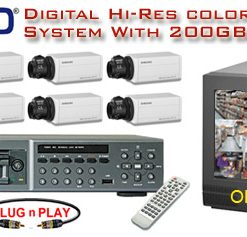 ***NEW*** NUVICO DIGITAL COMPLETE 8 CAMERA COLOR HIGH-RES SYSTEM ***Professional Grade***