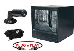 COMPLETE OUTDOOR/INDOOR B&W BULLET CAMERA SYSTEM