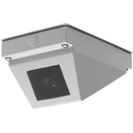 GE SECURITY CR-1200-VF-CM Rugged Ceiling/Wall Camera, High Res. B/W, 3-6mm Varifocal Manual Iris Lens, 10-40vdc/18-30vac, Corner Mount