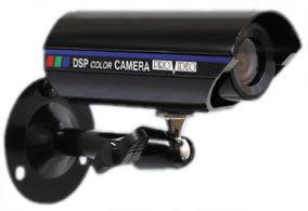 CVC-635N COLOR WEATHERPROOF BULLET WITH SUNSHIELD