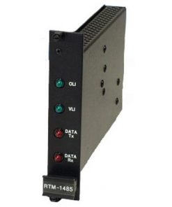 PANASONIC RTM1485 Video/RS-485 module rack card transmitter – multimode
